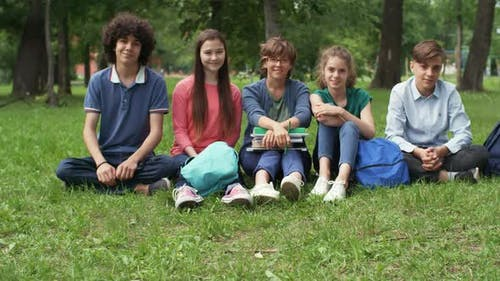 Pupils on Outdoor Classes