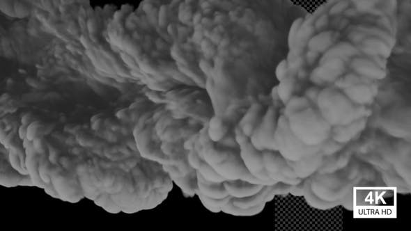Huge Dark Smoke 4K