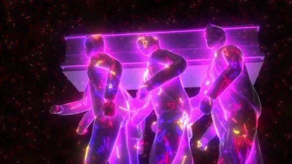 Thumbnail for Vj Coffin Dancers 4k