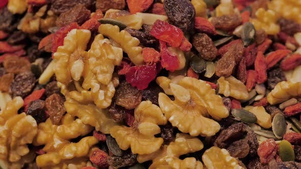 Dried Fruit Background