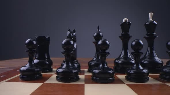 Beautiful Black Chess