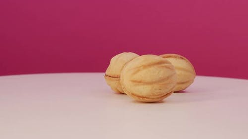 Nuts Filled With Cream