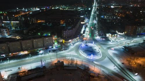 Transport Square of the City of Tomsk