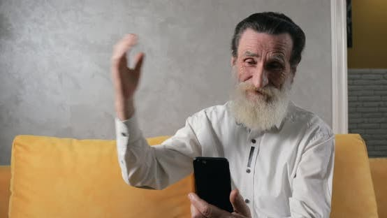 Thumbnail for Senior Citizen Succeeds in Using Smartphone