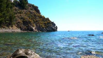 Beautiful Sea in Summer Time,