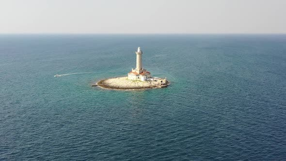 Thumbnail for Lighthouse in the Adriatic Sea