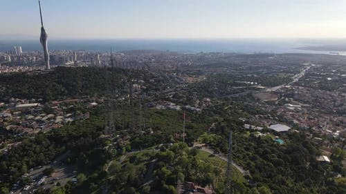 Turkish Radio Tower Transmitter Drone