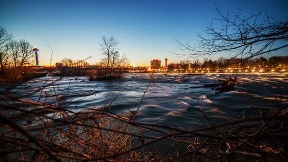 Thumbnail for Niagara Falls Time Lapse - 4K