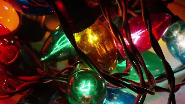 Thumbnail for Filmmusik, Drehende Aufnahme von ornamentalen Weihnachtslichtern - WEIHNACHTEN 054