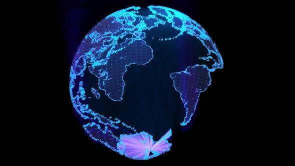Technological Globe
