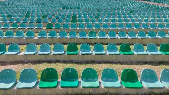 8K Empty Stadium Seats