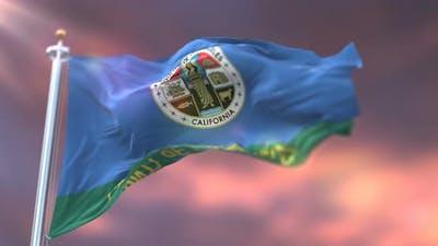 Los Angeles Flag, United States