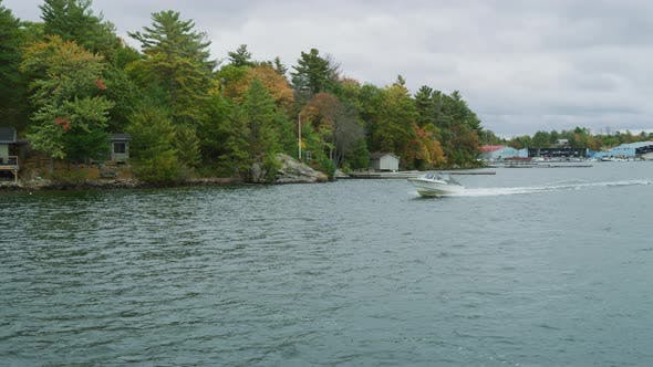 Thumbnail for Motorboat in the Georgian Bay