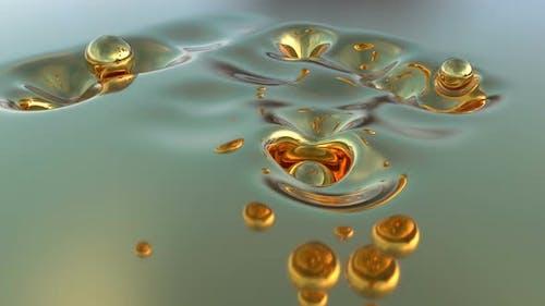Surreal Liquid Gold