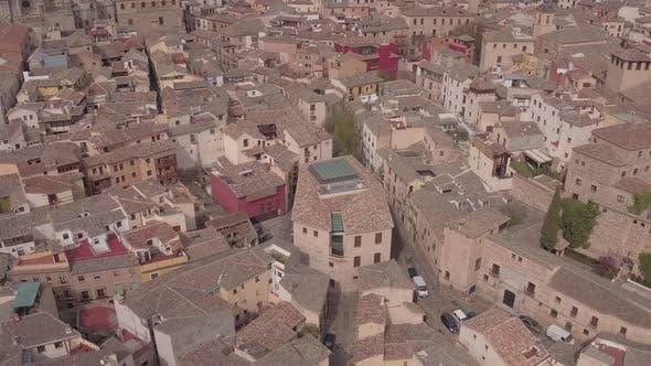 Luftaufnahme von Gebäuden