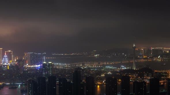 Thumbnail for Macau Aerial Cityscape