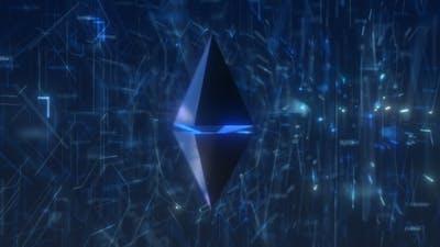 Ethereum Crypto HUD UI