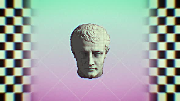 Thumbnail for Vaporwave Retro 90s Background Loop