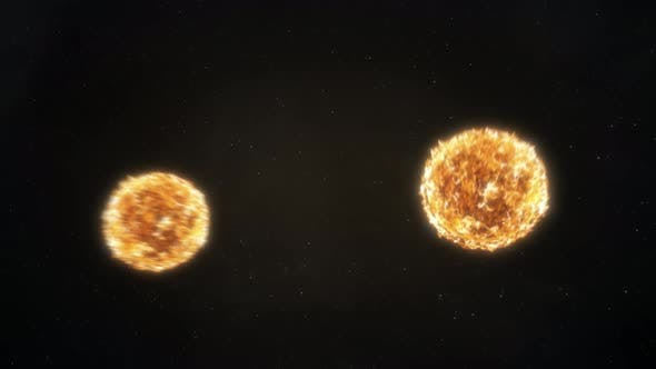 Thumbnail for Binary Stars Orbiting Fast - Orange