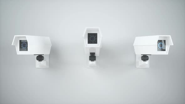 Thumbnail for Loop animation of three monitors on the wall.
