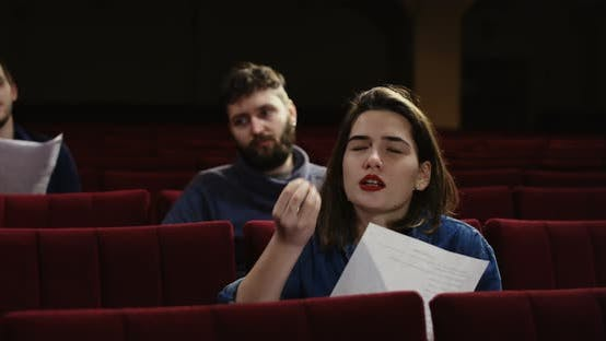 Thumbnail for Actors Memorizing Their Lines