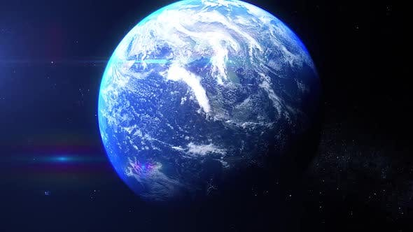 Thumbnail for Realistic Earth Zoom South Africa