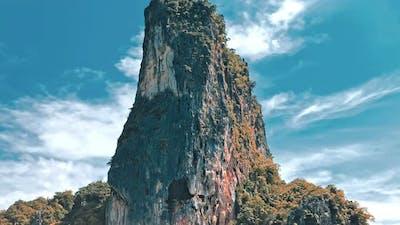 Beautiful Tropical Landscape, Island In Thailand