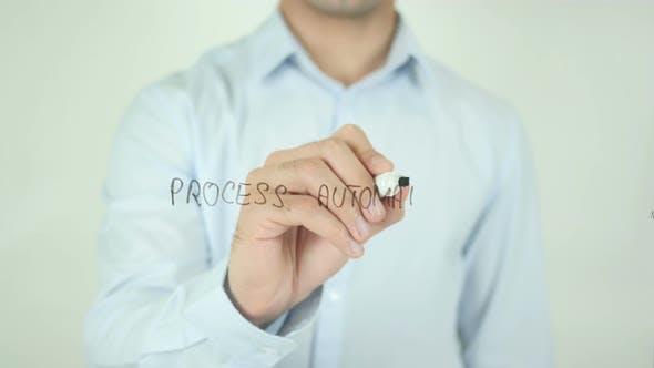 Process Automation, Writing On Screen