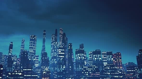 Thumbnail for Night City Loop 4k