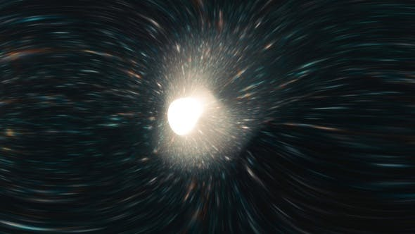 Thumbnail for 360° VR Space Warp into Light