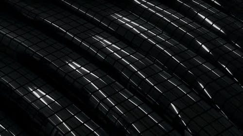 Dark Chrome Surface