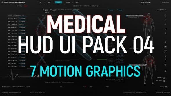 Thumbnail for Medical HUD UI Pack 04