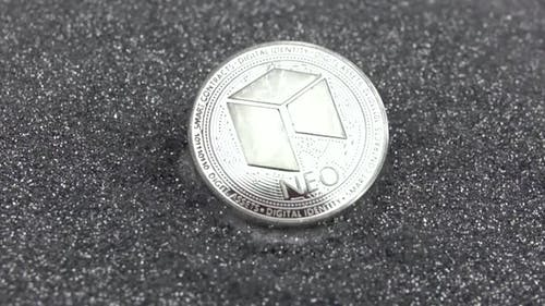 NEO Cryptocurrency Falls on Silver Sparkles
