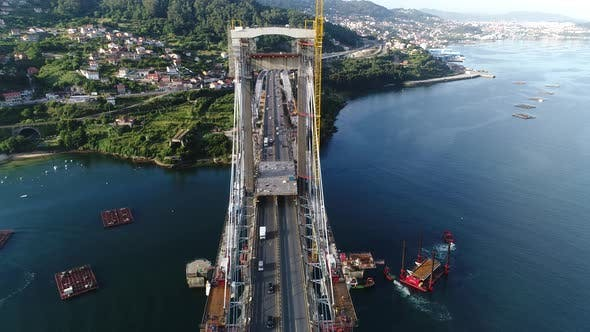 Thumbnail for Bridge Traffic on Construction