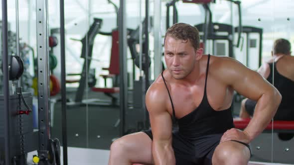 Thumbnail for Man Doing One-arm Dumbbell Curl