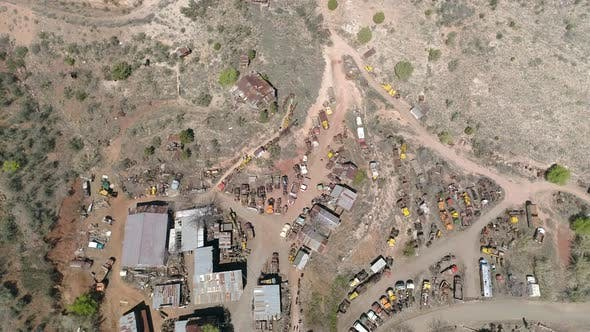Thumbnail for Aerial view of the Ghost Town