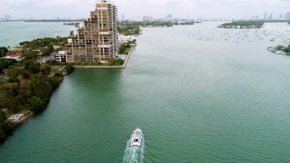 Thumbnail for Aerial View Venetian Islands, Causeway, Miami Beach