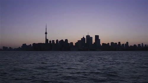 Toronto, Kanada, Video - Die Skyline bei Sonnenuntergang