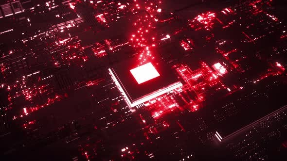 Microchip Transferring Processed Data
