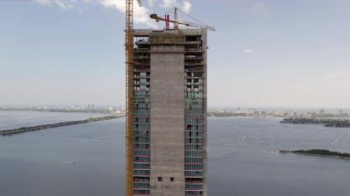 Missoni Baia Miami Building Under Construction 4k 60fps