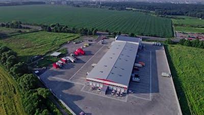 Logistics Export and Import Cargo Center