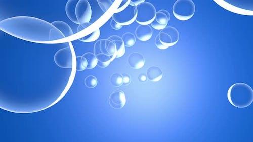 Oxygen Molecule Animation