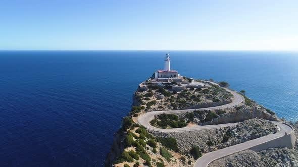 Thumbnail for Far Formentor Lighthouse at Mallorca, Spain
