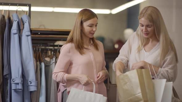 Thumbnail for Happy Women Having Fun while Shopping