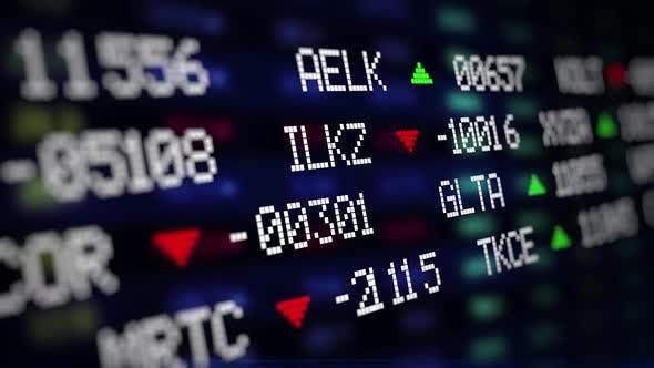 Exchange Graph Stock Market Data