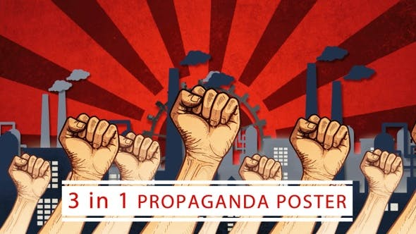 Thumbnail for 3 In 1 Propaganda Posters