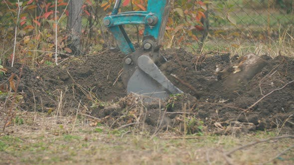 Thumbnail for Excavator Bucket Close Up