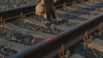 In Loneliness on Railway