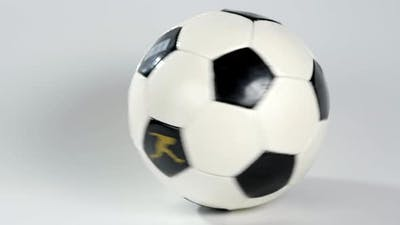 Football Soccer Ball Isolated on a White Background