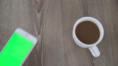 Smart Phone Green Screen
